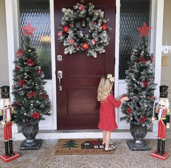 bece02b0e VIDEO: Vyrobte si vianočný veniec na vchodové dvere: S našimi radami ...