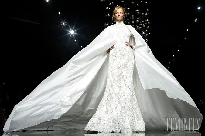Najznámejšia značka svadobných šiat predstavila najnovšiu kolekciu ... e0786b8116e