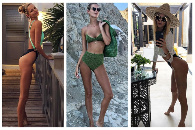 Topmodelka Michaela Kocianová a jej inšpiratívny výber plavkových outfitov 761533563d