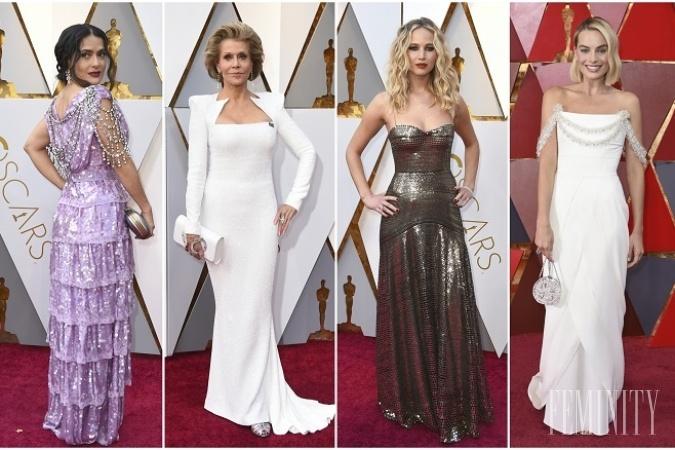 8aa1868e2817 Červený koberec z noci Oscarov 2018  Margot Robbie stavila na ...