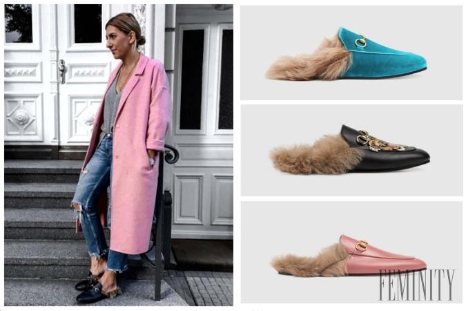 01aaedda29 Novodobý trend jesene  Pantofle s kožušinou si obľúbili moderné a nezávislé  ženy