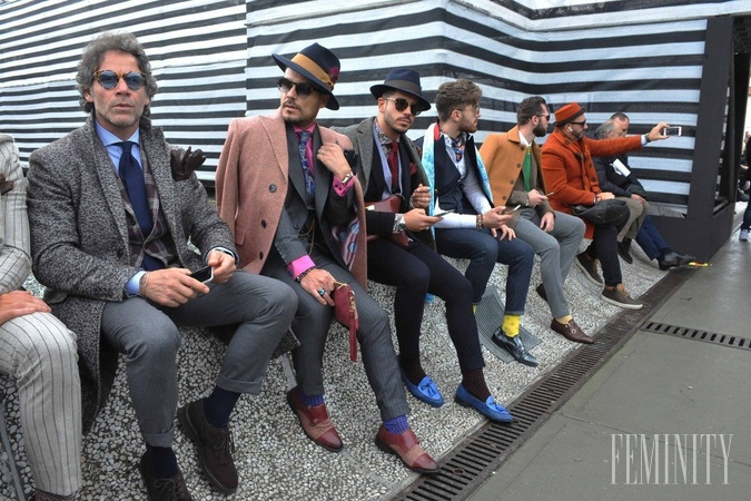 baa5c27eb0 Pitti Uomo priláka každú sezónu do Florencie najlepšie oblečených mužov  planéty
