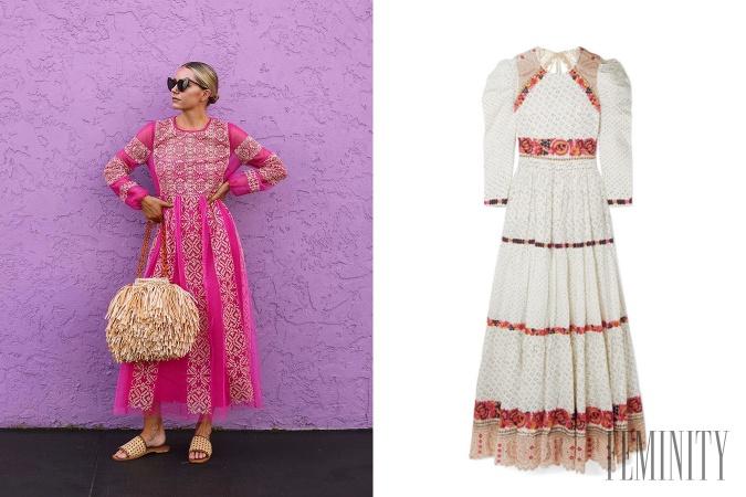 1e5767e19a4a Jarné šaty s folklórnymi prvkami  Máme pre vás štýly