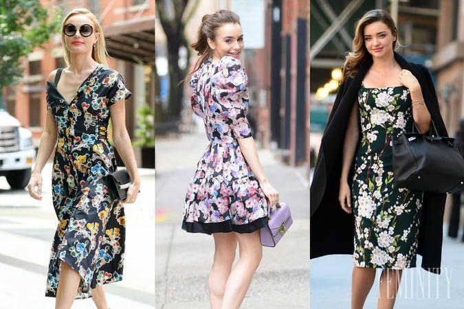 513b659b8 Kvetinové šaty ako hit jari 2019: Ukážeme vám, ako tento vzor ...