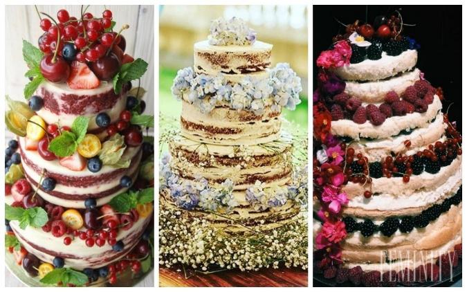 5a61d9bd62 Nahé torty uprednostňujú nevesty
