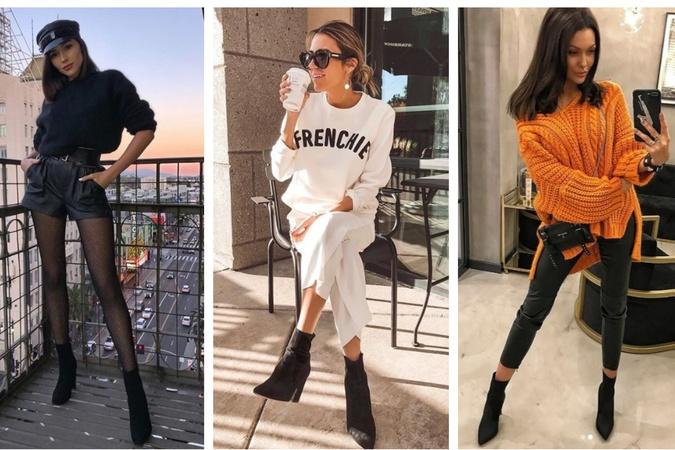 38aefad713b1 Ponožkové členkové topánky sú hitom sezóny  Inšpirujte sa fashion  bloggerkami a ich štýlom