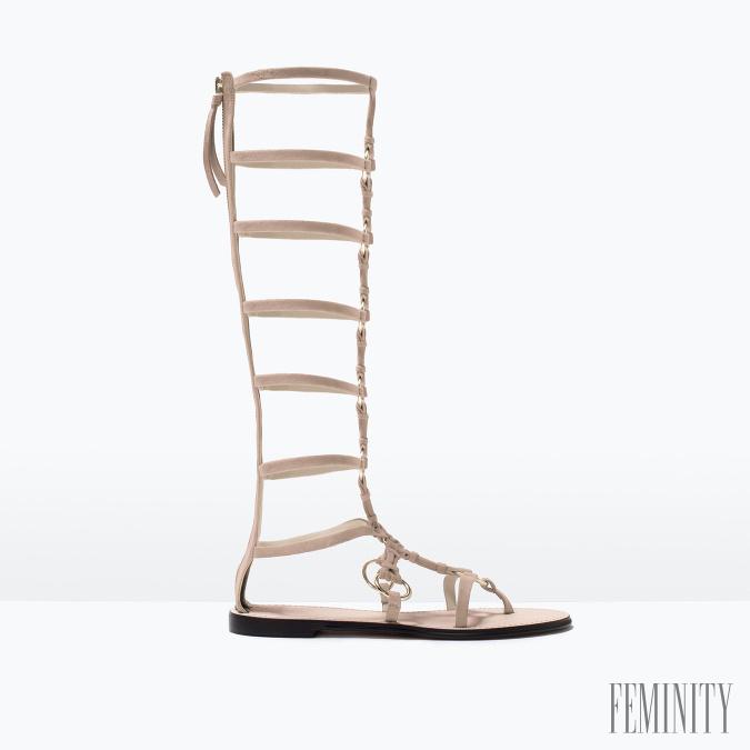 8542bfc4af3c2 Sexi topánky, ktoré robia ženu príťažlivou: Gladiátorky nesmú vo ...