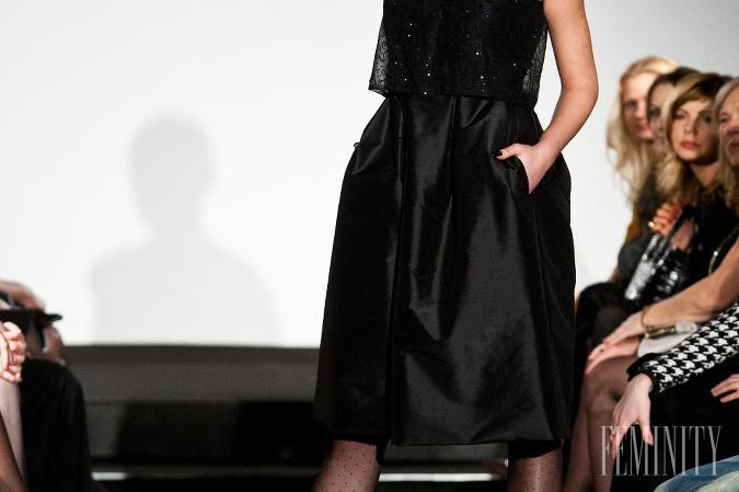 eb492998b158 Fero Mikloško predstavil kolekciu malých čiernych  Čierna farba v ...