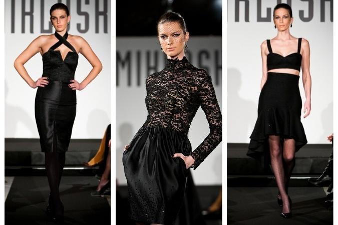 ba2192faf23a Fero Mikloško predstavil kolekciu malých čiernych  Čierna farba v ...
