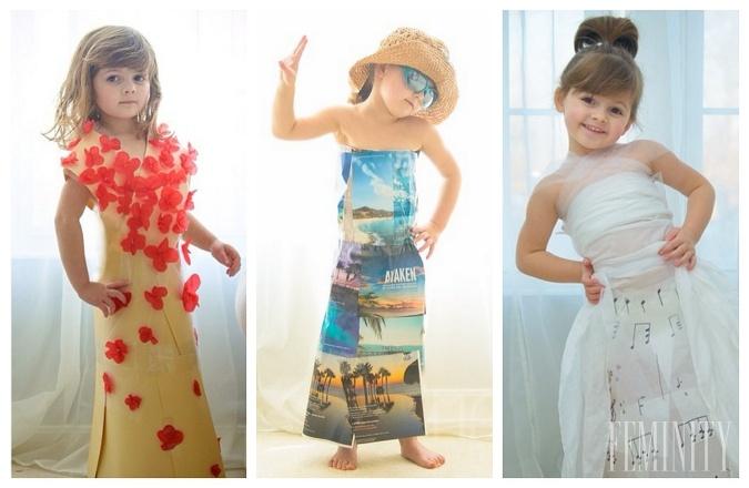 f70d9dcaff4f Najštýlovejšia slečna má iba štyri roky  Kopíruje šaty celebrít za ...