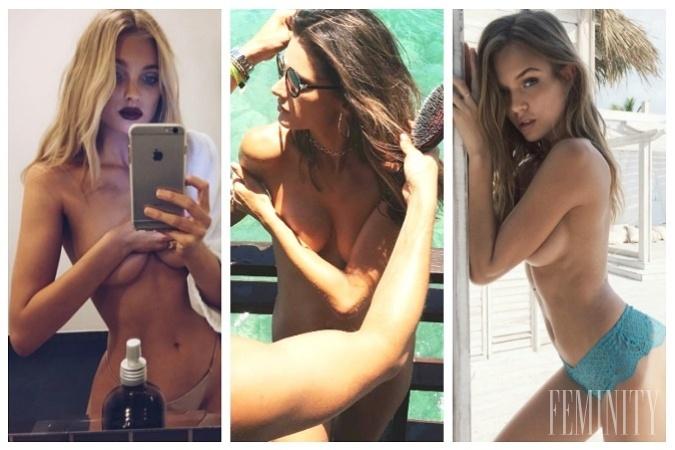 Modelky a dievčat nahé