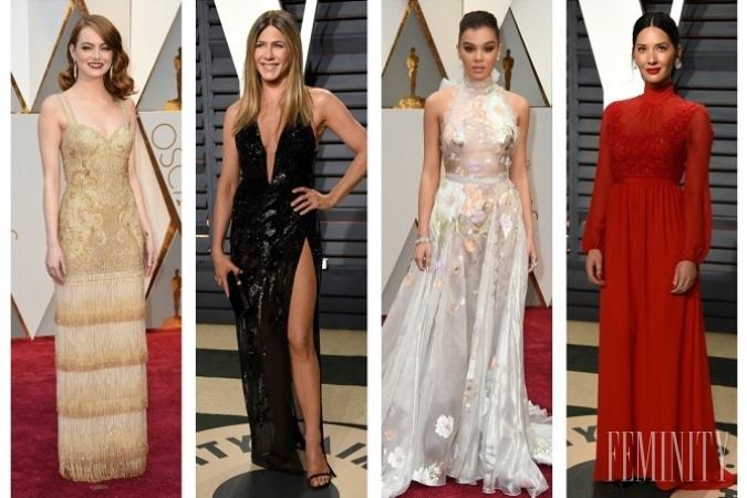 a5233b148b00 Červený koberec z noci Oscarov 2017  Pôvabná Emma Stone za dámu ...