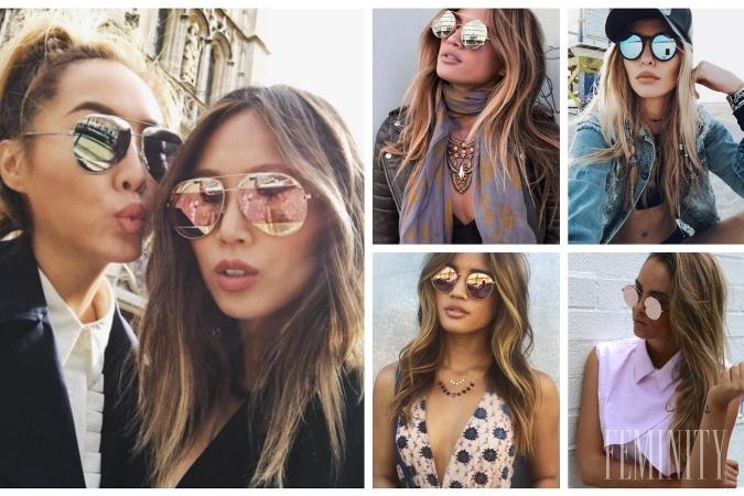 541280493 Okrúhle zrkadlovky v rôznych farbách: Slnečné okuliare na túto sezónu si  tentokrát zamilujete