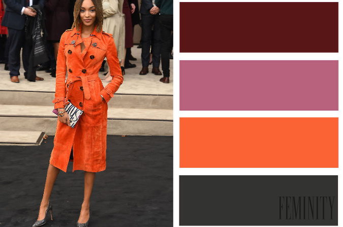a534c071437b Niekoľko pôsobivých outfitov  Ako kombinovať farby na oblečení tak ...
