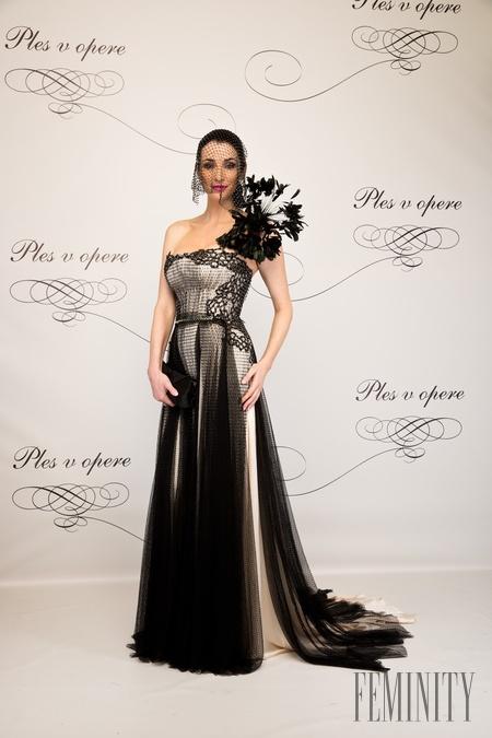 c2ebf8a11936 Bývalá riaditeľka súťaže krásy Lucia Hablovičová v luxusnej róbe