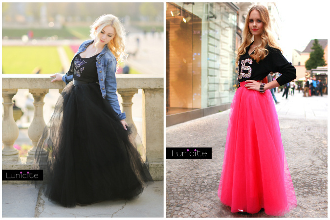 6e24a7d5e1d8 Obľúbili ste si tylové sukne  Ponúkame zopár tipov ako ich nosiť ...