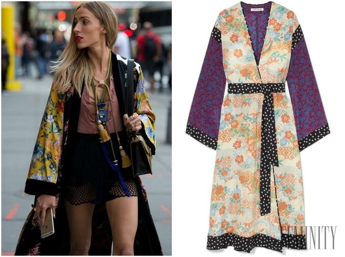 03b773644 Kúsok, ktorý osvieži každý vás letný outfit: Jemné kimono vám bude ...
