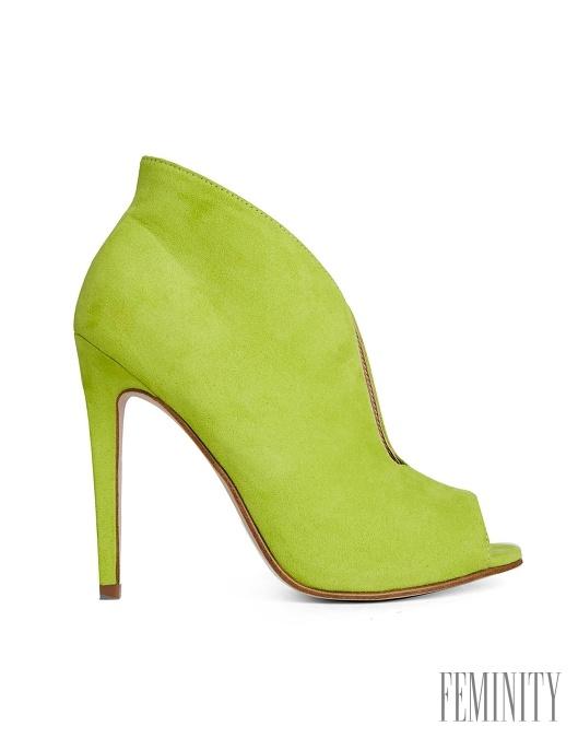 4215a204f2 Netradičná línia topánky a netradičná farba je naozaj pútavá a zaručí žene  neprehliadnuteľnosť v dave ľudí